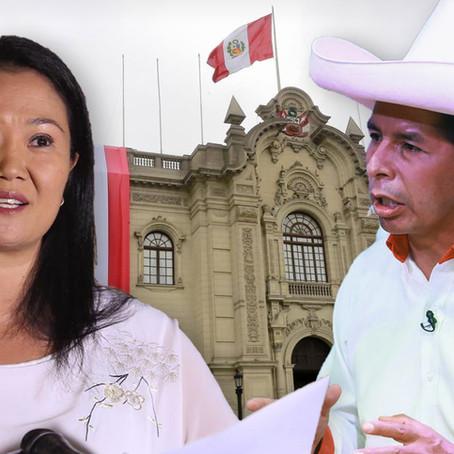 Encuesta de intención de voto es liderada por Pedro Castillo