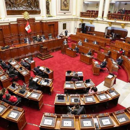 Congreso elimina inmunidad parlamentaria con 103 votos a favor