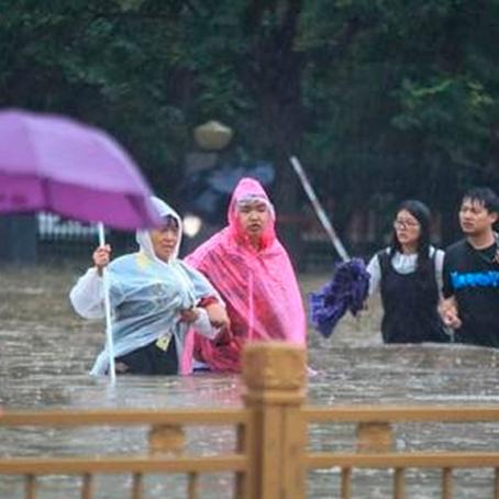 China: Inéditas lluvias dejan 25 muertes