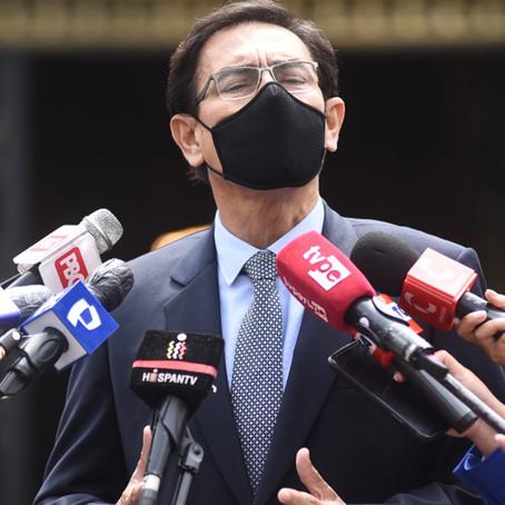 Martín Vizcarra cuestiona que el Congreso lo haya inhabilitado por 10 años