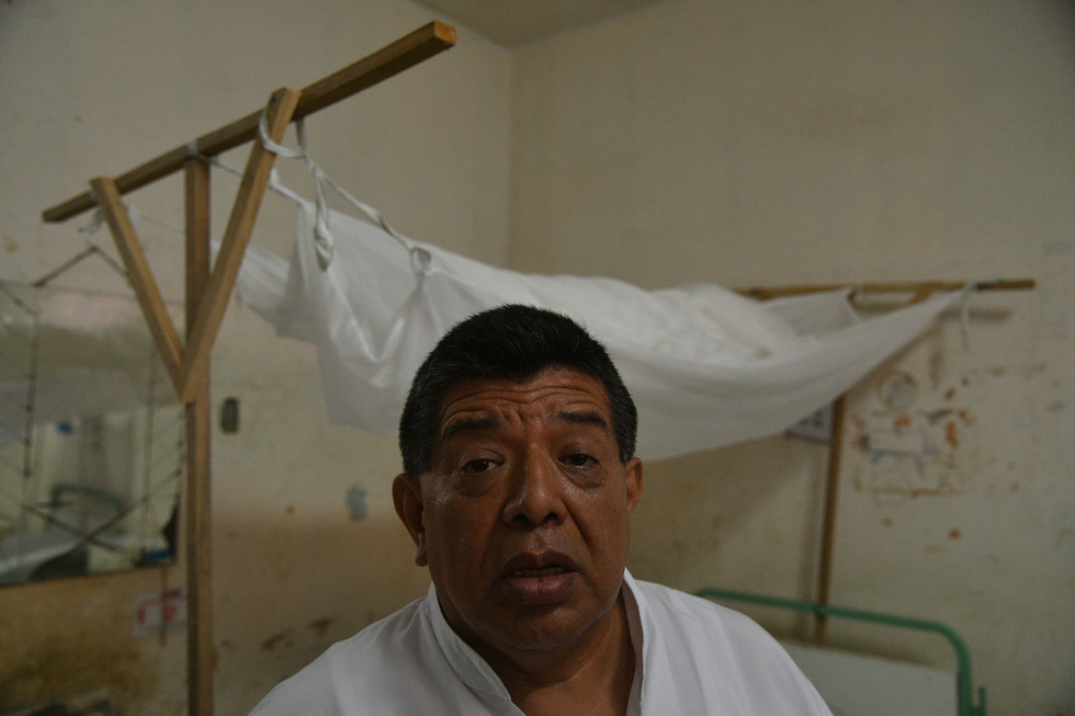 6 En la zona del dengue, director del Re