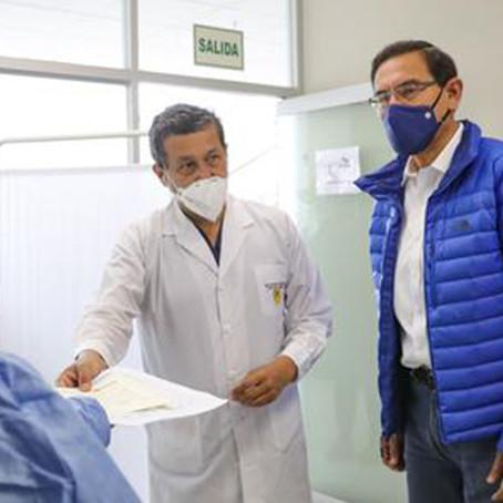 German Málaga confirma ida a Palacio después de confirmación de vacunación a Martín Vizcarra