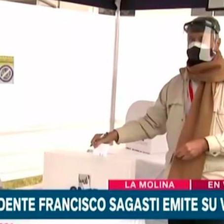 """Francisco Sagasti: """"Estoy seguro que la ciudadanía respetará el voto popular"""""""