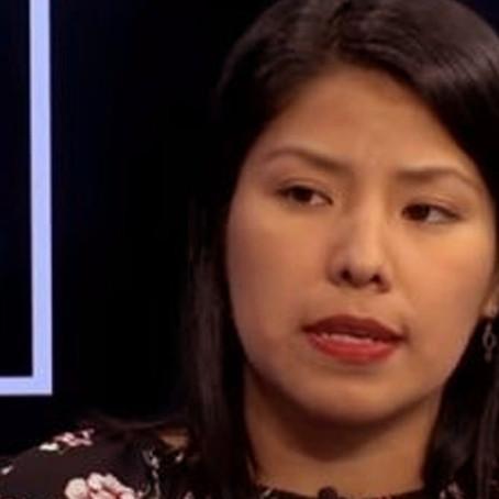 """Indira Huilca tras pedidos de nulidad de Fuerza Popular: """"Keiko no aprendió nada"""""""