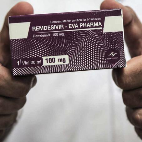 Brasil aprueba remdesivir para tratar la COVID-19 y lo registra en AstraZeneca