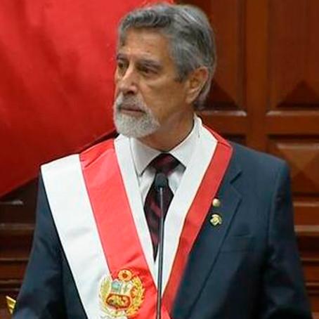 Según Datum solo el 28% de peruanos aprueba la gestión de Sagasti