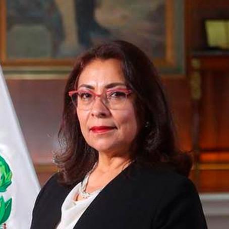 """Violeta Bermúdez: """"El presidente y el gabinete solo tienen puesta la camiseta por el Perú"""""""