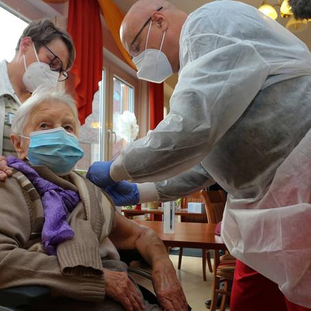 En solo dos días, Alemania inyectó casi 42 mil dosis de vacuna