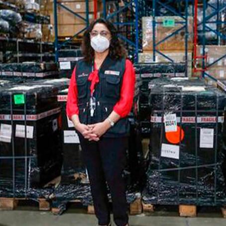 Reino Unido donó al Perú ventiladores mecánicos para pacientes con COVID-19