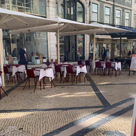 Portugal recupera sus terrazas y tiendas tras 80 días de cierre por coronavirus