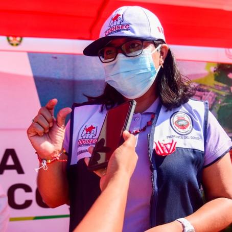Alcaldesa de Yarinacocha no descarta visitar a Jerly Díaz en prisión