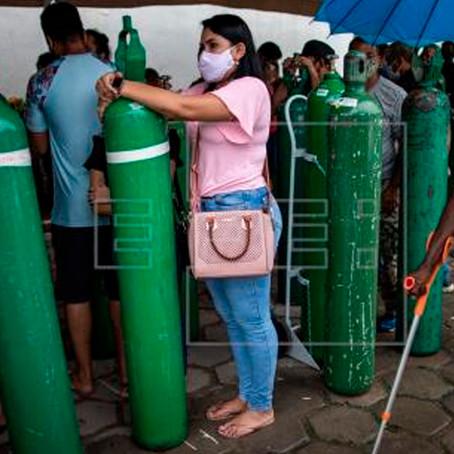 Déficit de oxígeno medicinal en el Perú es de 70 toneladas por día