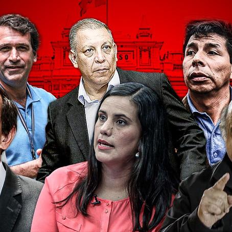 Minoría de 8 candidatos a la presidencia no cuentan con investigaciones