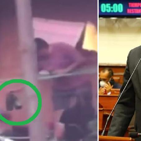 Congresista que fue encontrado bebiendo en plena cuarentena solo fue sancionado con amonestación