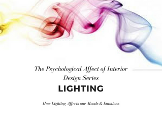 The Psychological Affect of Interior Design on your Subconscious | Lighting