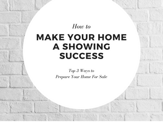 Making Your Home a Showing Success