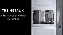 The Markforged Metal X: From Design to Finished Product