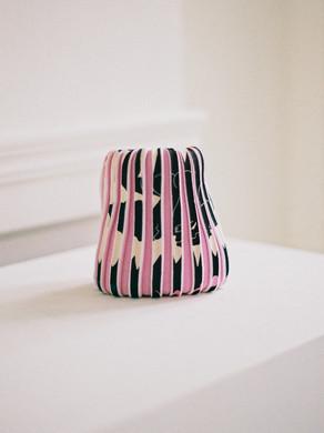 Plisse Knit Bag