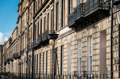 External Heriot Row Apartment