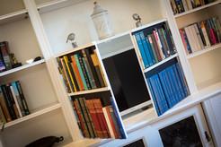 Living Room TV & Shelving