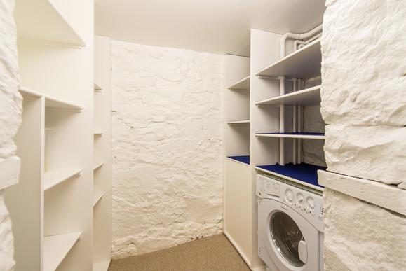Washing machine and storage