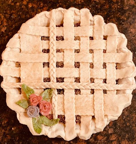 Braid and Weave Lattice Fruit Pie