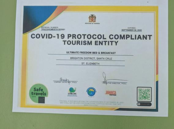 COVID-19 Protocol Compliant