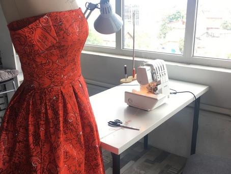 Шьем платье, часть 2 (юбка)