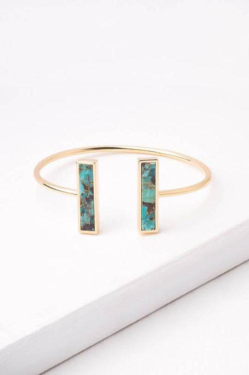 Rhetta Turquoise Cuff Bracelet