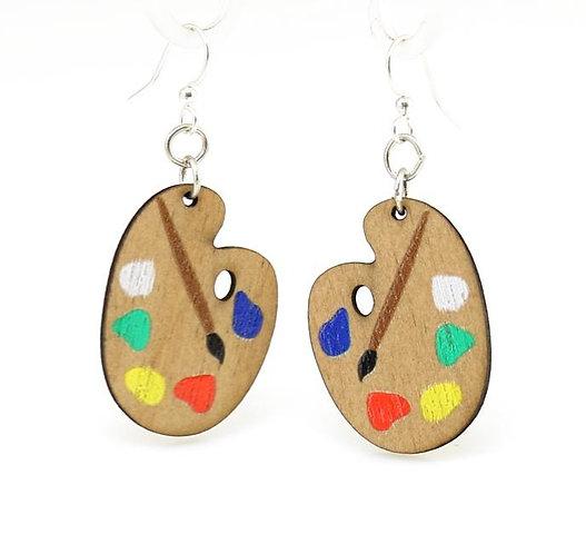 Artist Paint Palette Earrings