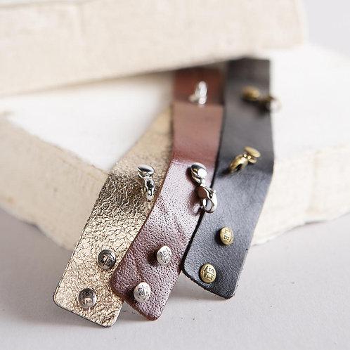 Thin Leather Cuffs