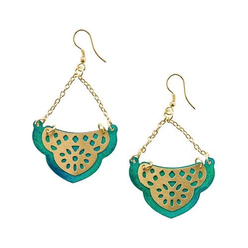 Jaladhi Sea Treasure Dangle Earrings