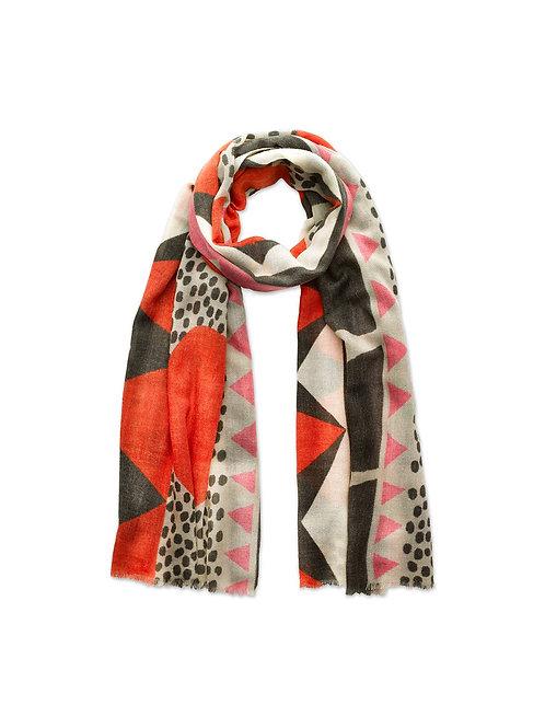 Scandi Print Wool Scarf Limited Edition