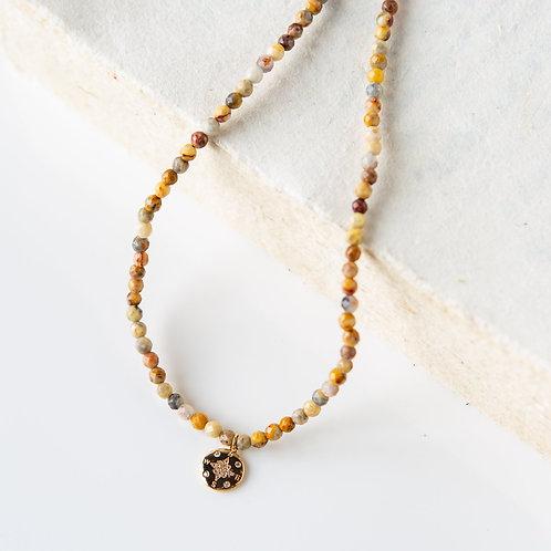 Piper Necklace - Agate & Jasper