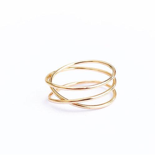 Osmara Infinity Ring