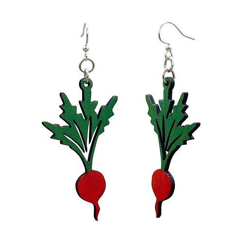 Radish Dangle Earrings