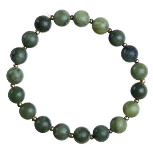 Jade Natural Stone Stretch Bracelet