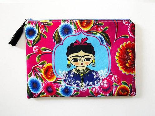 Frida Kahlo Cosmetic Travel Bag