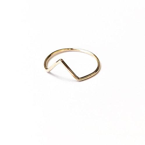 Diana Chevron Ring