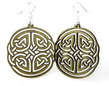 Celtic Knot Design Earrings