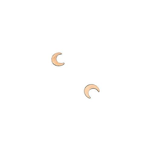Ella Crescent Moon Studs