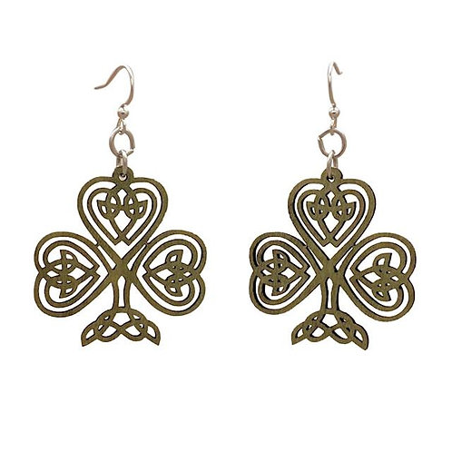 Celtic Shamrock Earrings