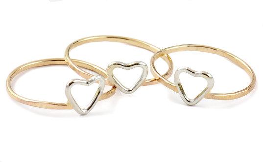 Junibel Sweetheart Ring