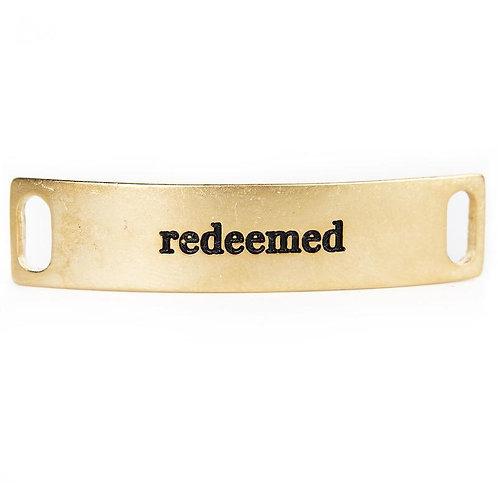 """""""Redeemed"""" Bracelet Plate"""