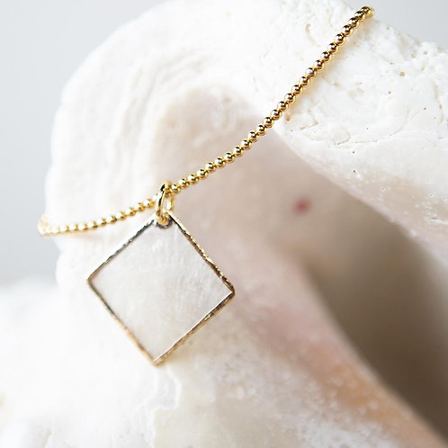 Capiz Shell Bracelet-Diamond