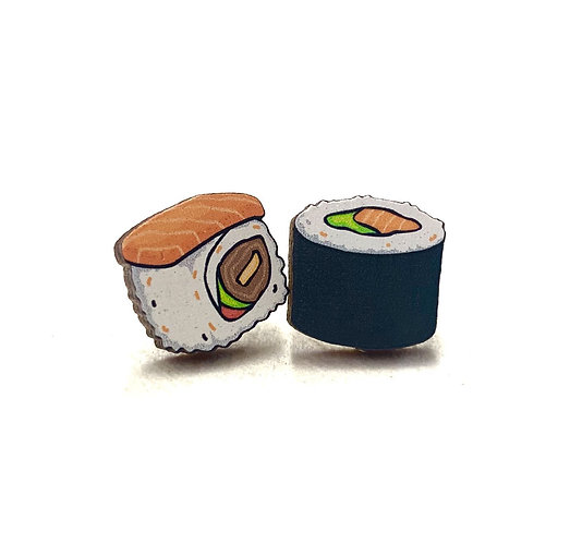 Sushi Stud Earrings