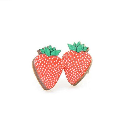 Strawberry Stud Earrings