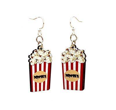 Popcorn Box Earrings