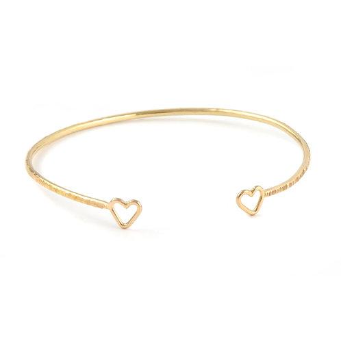Junibel Sweetheart Cuff Bracelet