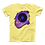 Thumbnail: Vinyl Record with Paint Scattered in Purple Tones T-Shirt